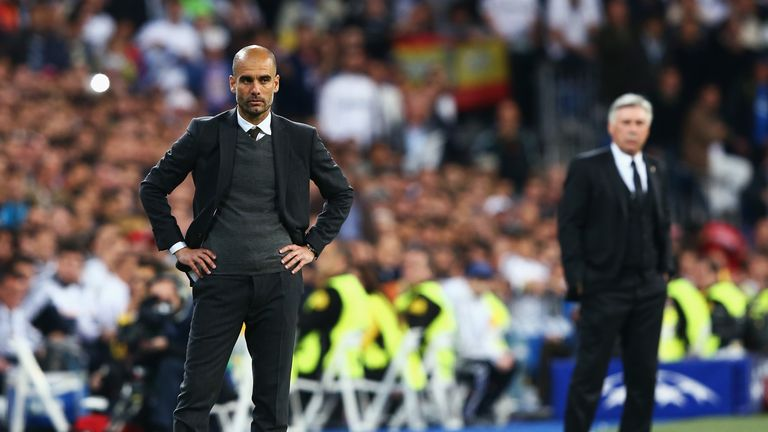 Pep Guardiola will leave Bayern Munich at the end of the season to be replaced by Carlo Ancelotti