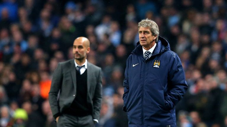 Manuel Pellegrini hopes to see Pep Guardiola join Manchester City at some point in the future