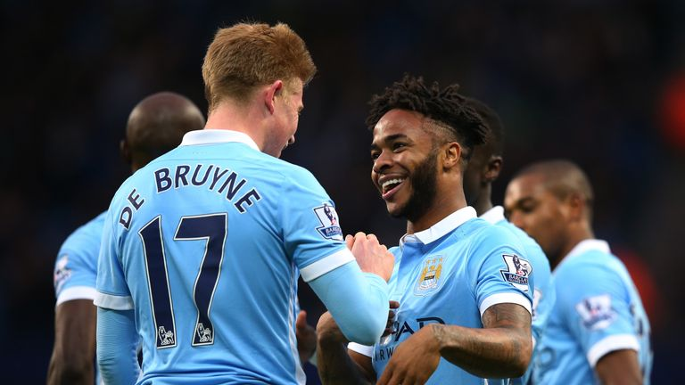 Kevin de Bruyne and Raheem Sterling are two members of an expensively-assembled squad