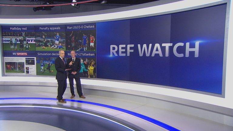 Dermot Gallagher analysed a series of controversial decisions from the midweek Premier League fixtures on SSN HQ