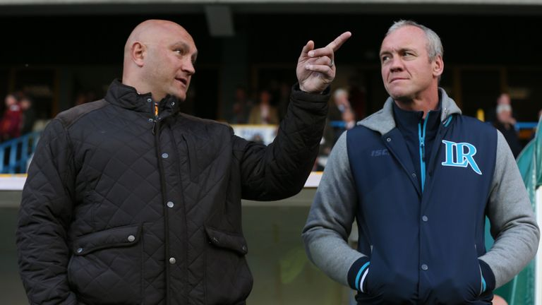 Paul Anderson and Brian McDermott have both endured difficult starts to the season