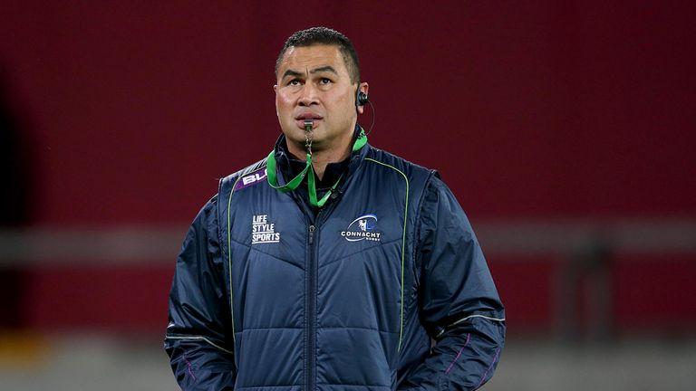 Connacht's Pat Lam claimed coaching honours