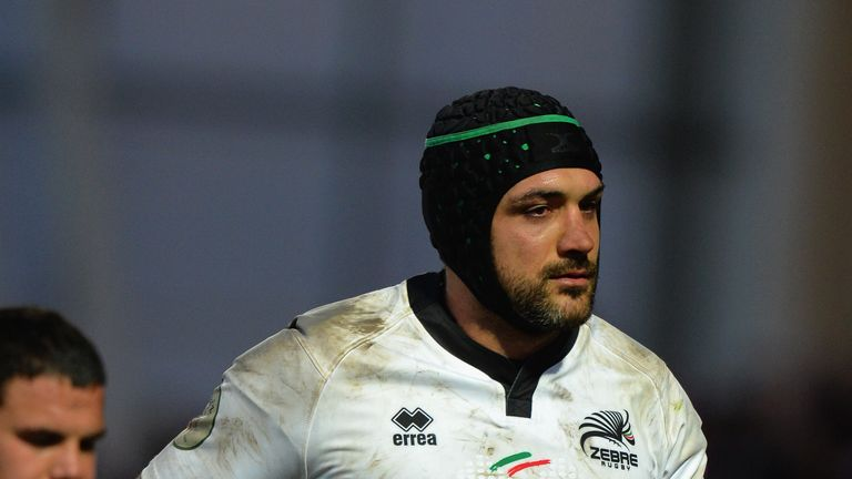 Marco Bortolami has played his final game for Zebre