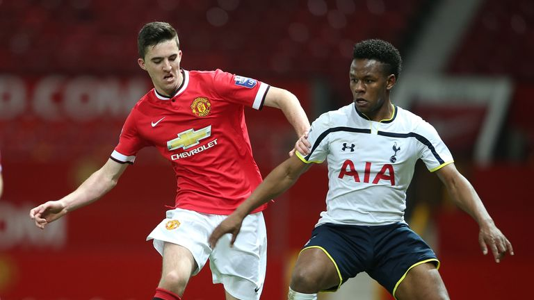 Goss has been playing in the Barclays U21 Premier League