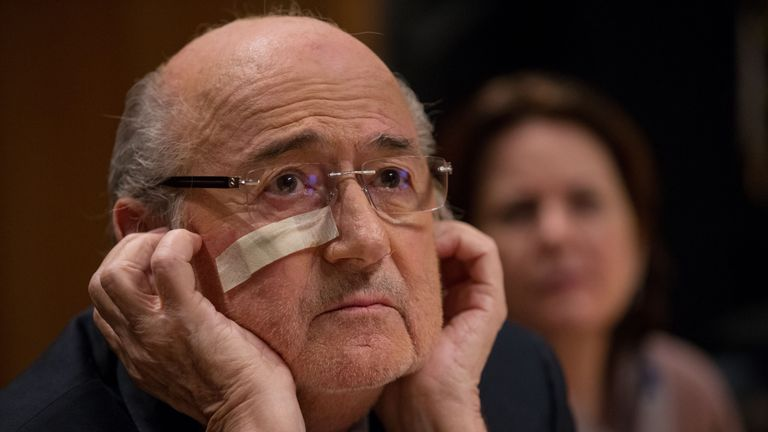 Sepp Blatter produces an interesting performance in Zurich on Tuesday