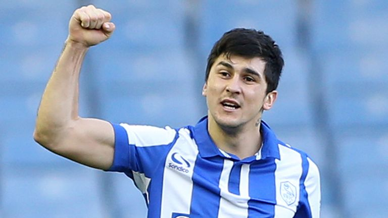 Sheffield Wednesday's Fernando Forestieri celebrates