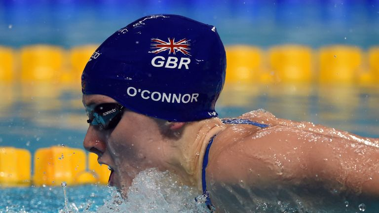 Siobhan-Marie O'Connor: One of four female Brits lining up for Team Europe