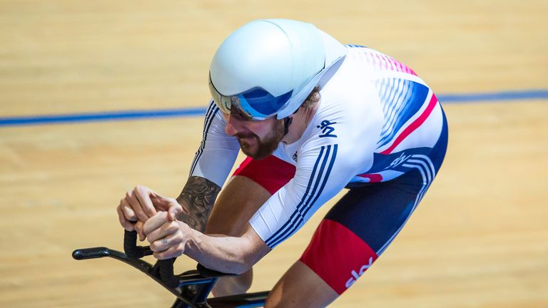 Wiggins is hoping to win team pursuit gold at the Rio 2016 Olympics (Picture: SWpix.com)
