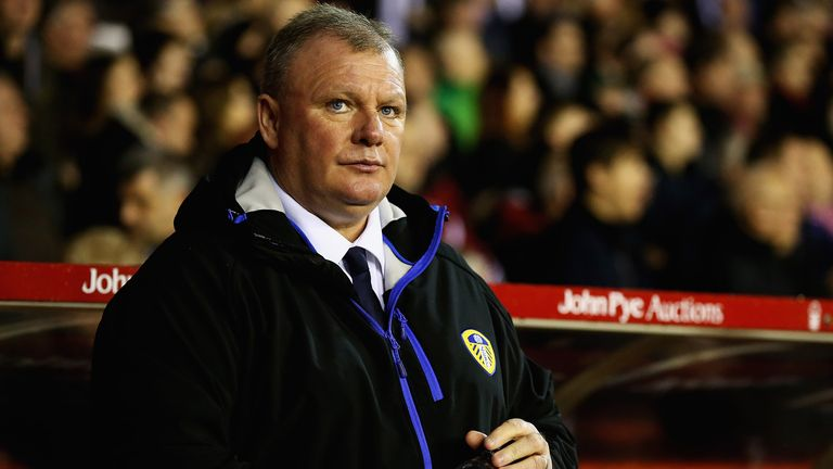 Evans parted company with Leeds on Tuesday after just seven months at the helm