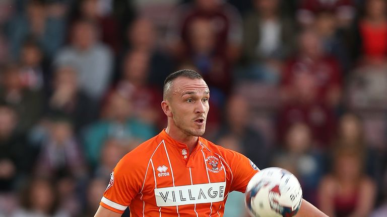 Aldred helped Blackpool to back-to-back wins in December
