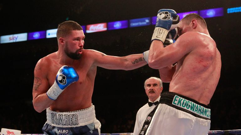 Bellew boxed in a discipline manner for most of the fight