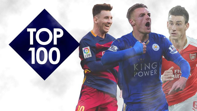 Top 100: Messi, Vardy and Koscielny make WhoScored's list
