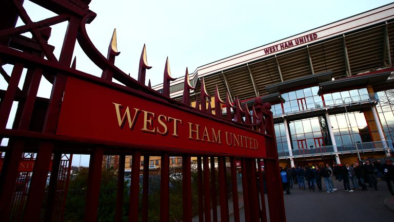 Show Racism the Red Card school event held at the Boleyn Ground on Thursday