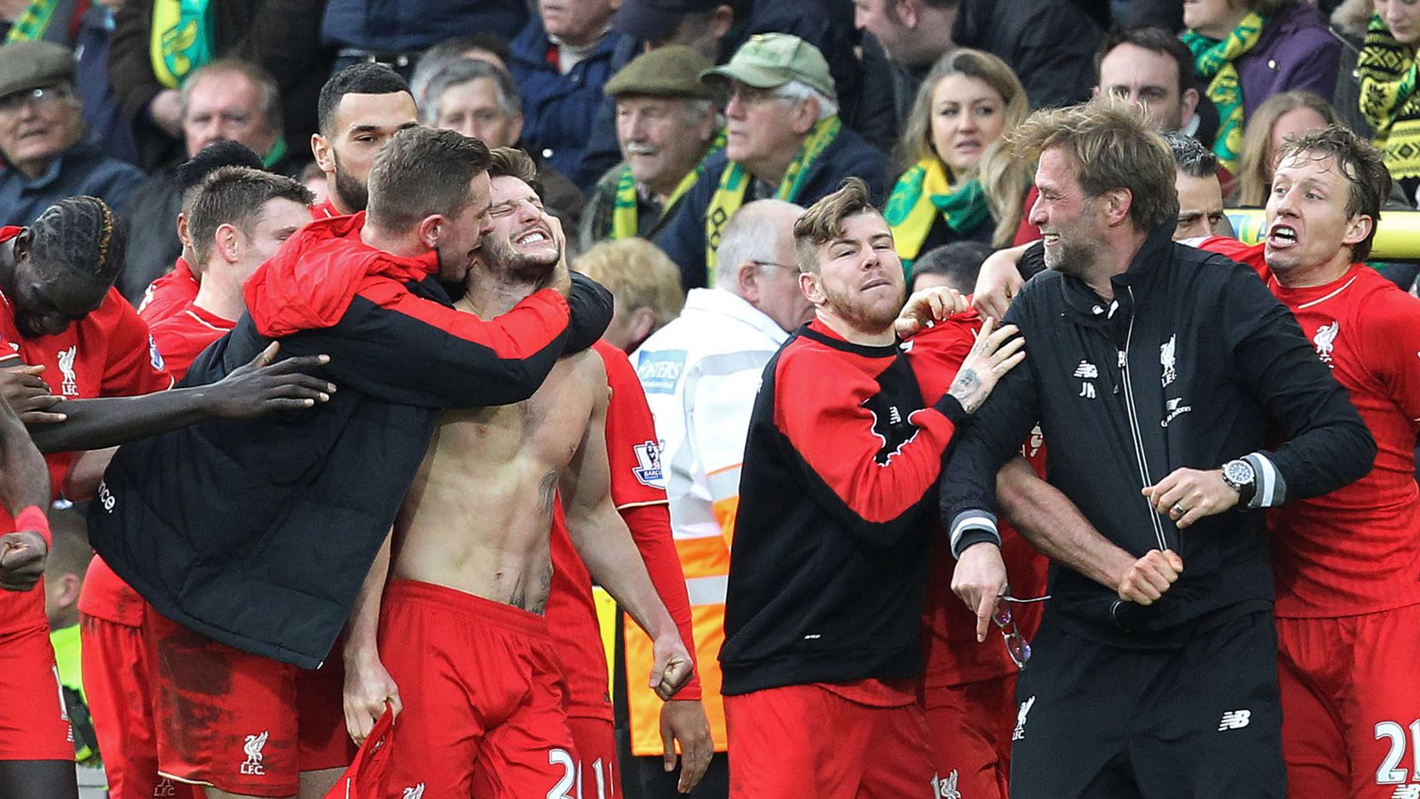 Norwich Liverpool 4-5 Highlights