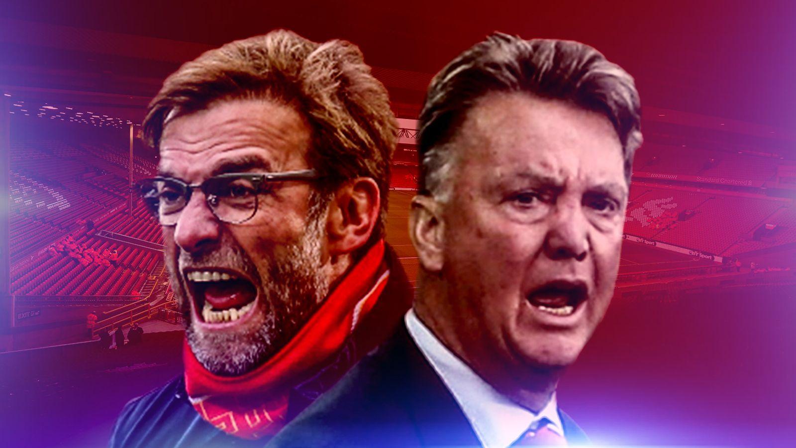 Jurgen Klopp And Louis Van Gaal To Renew Rivalry When
