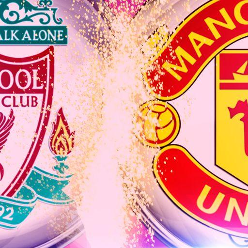 Man Utd's rivalry run