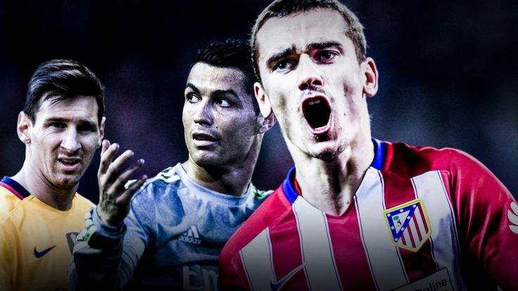 Antoine Griezmann is showing superstar potential at Atletico Madrid
