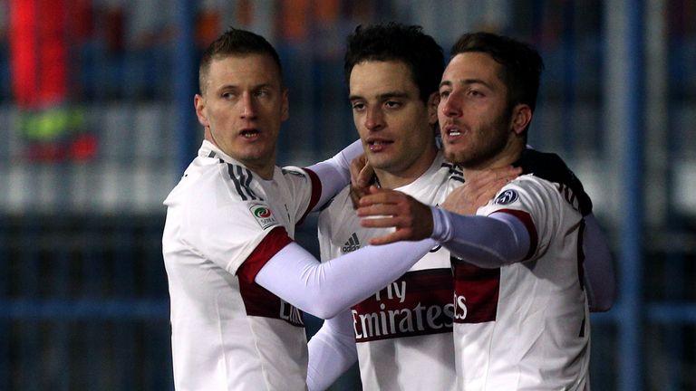 Giacomo Bonaventura equalised for AC Milan