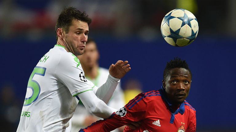Ahmed Musa (right) has played for CSKA Moscow in the Champions League this season