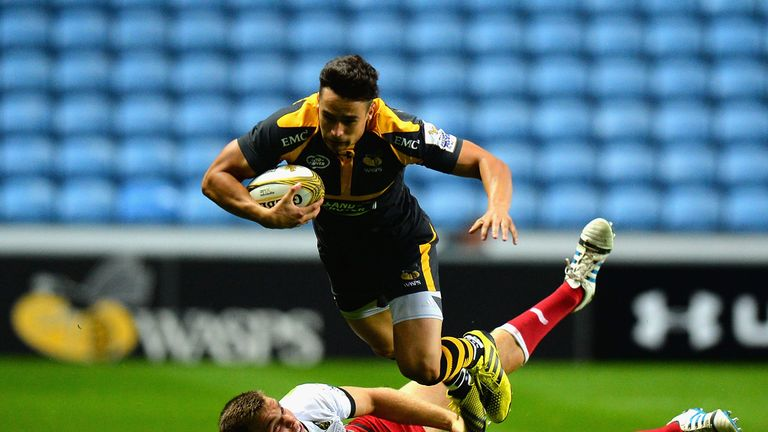 Alex Lozowski will leave Wasps for Saracens at the end of the season