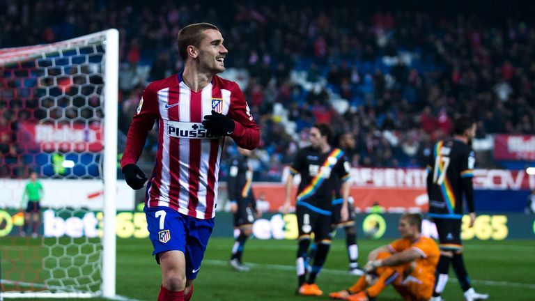 Griezmann has been linked with Chelsea and Manchester United