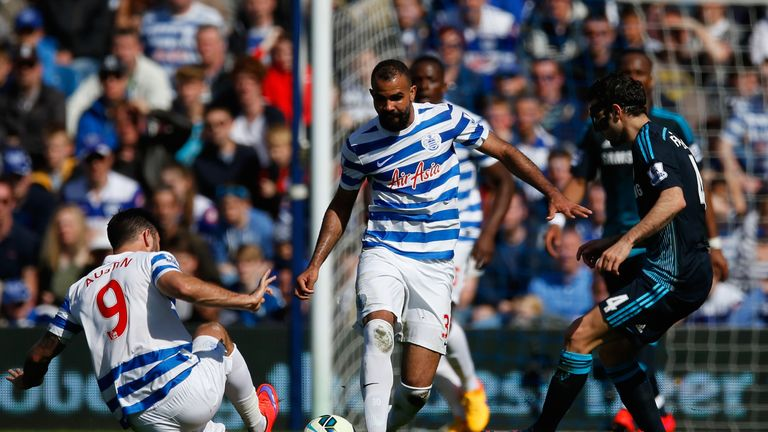 Sandro (centre) is due to have a medical today