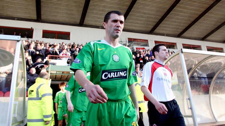 Celtic's infamous 2-1 defeat away to Clyde was Roy Keane's debut for the club.