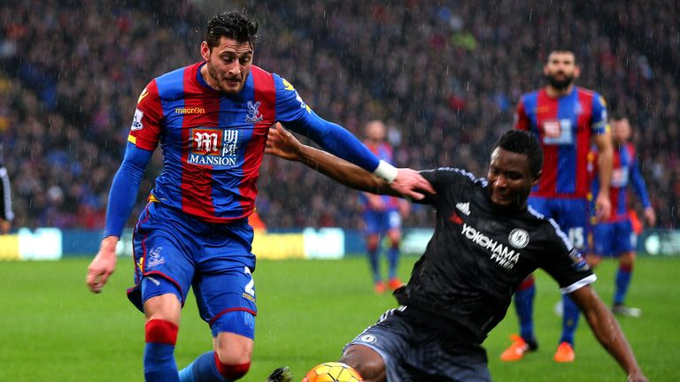 Mikel did a good job of shutting down Crystal Palace at Selhurst Park