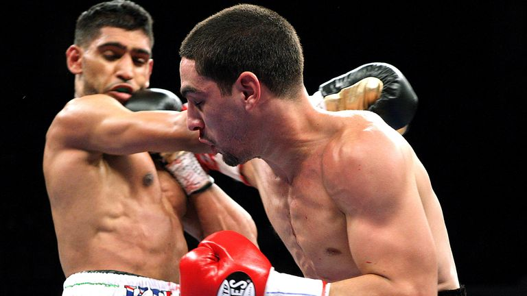 Khan was stopped by welterweight world champion Danny Garcia in 2012