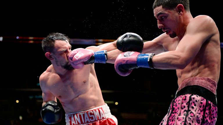 Danny Garcia beat Robert Guerrero to win the WBC welterweight title