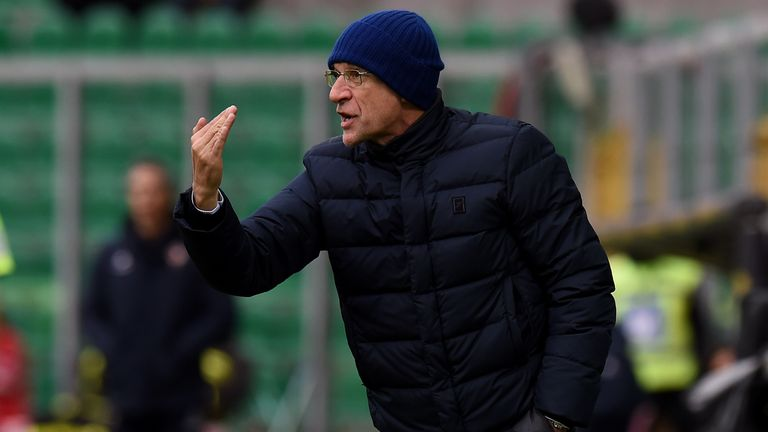 Davide Ballardini was sacked after falling out with his players