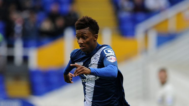 Demarai Gray looks set for a move to the King Power Stadium