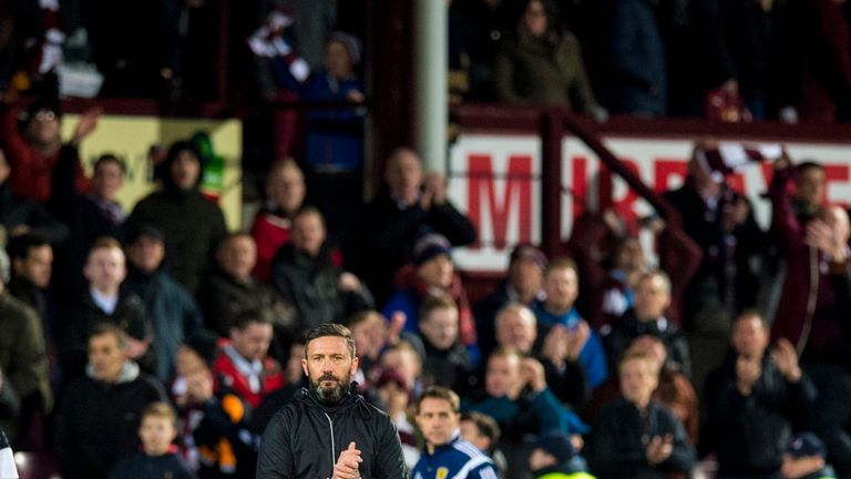 Derek McInnes was disappointed with his side's slow start