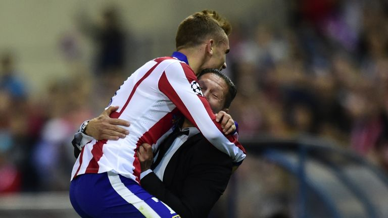 Griezmann has a close relationship with Atletico Madrid boss Diego Simeone