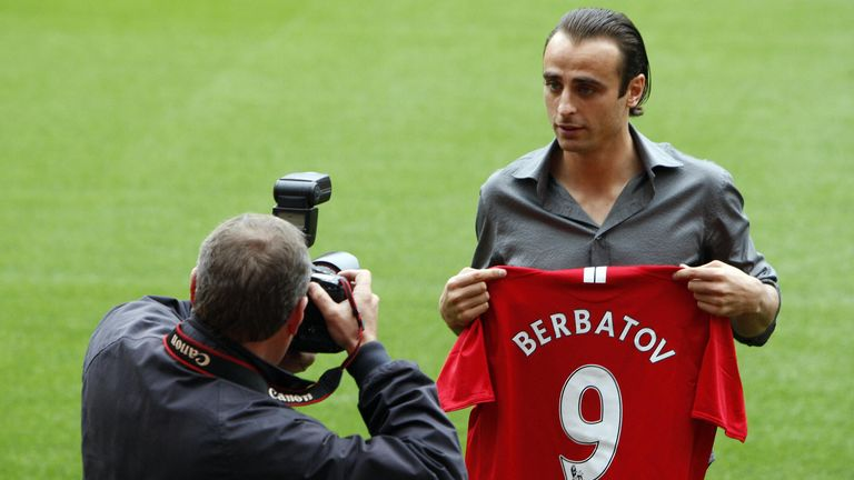 Berbatov ended up signing for Manchester United on Deadline Day