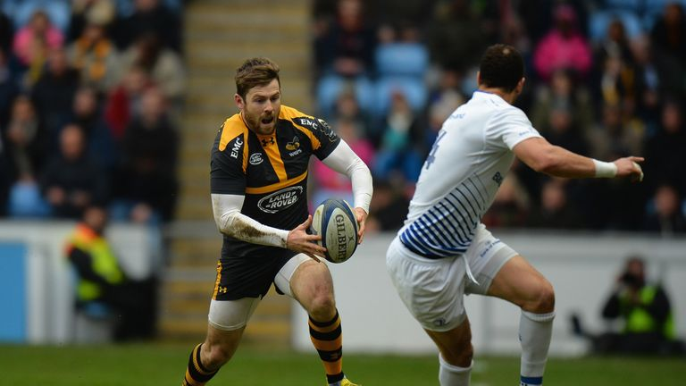 Elliot Daly outpaced the defence to score in Wasps' convincing victory over Leinster