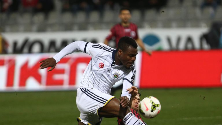 Emmanuel Emenike could be on his way to the Premier League