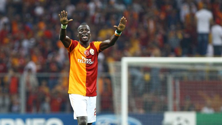 Emmanuel Eboue believes he has been treated unfairly by Galatasaray