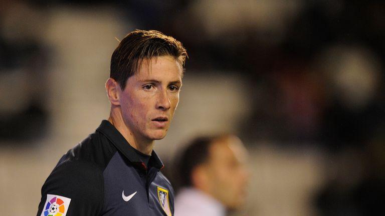 Fernando Torres of Club Atletico de Madrid