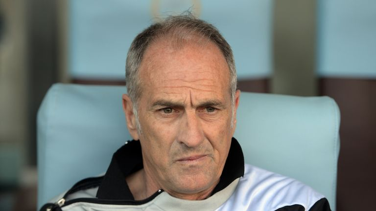 Francesco Guidolin's previous job was manager of Udinese