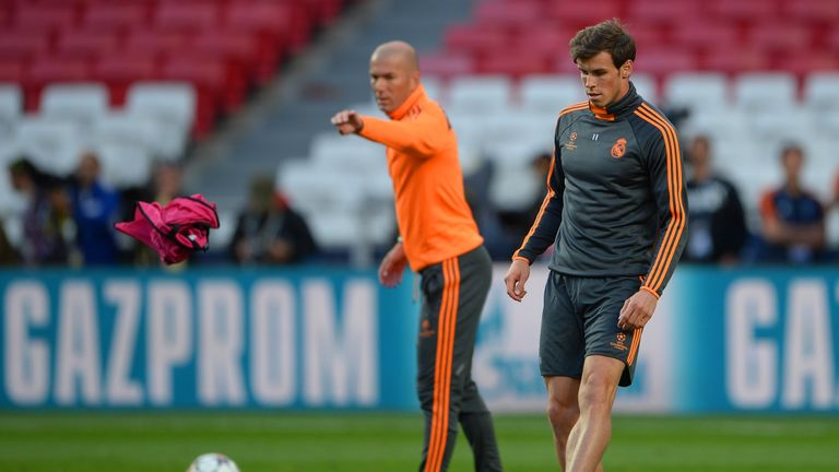 Real Madrid's Gareth Bale was upset by the dismissal of Benitez