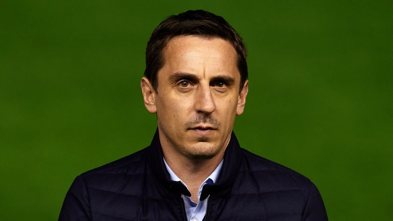 Gary Neville manager of Valencia CF