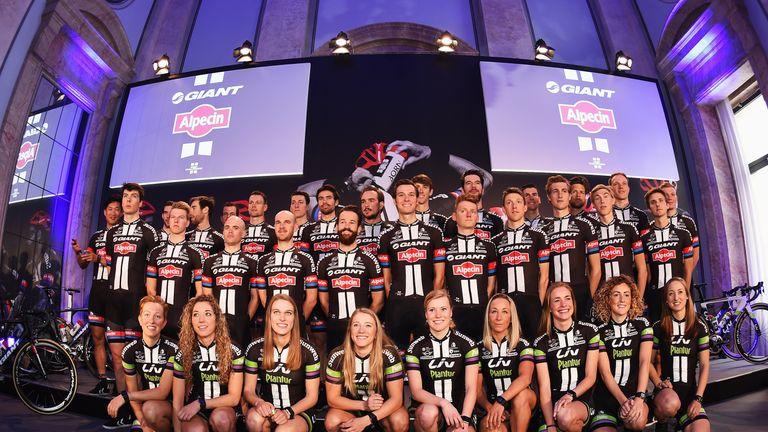 The Giant-Alpecin team are 'like a band of brothers and sisters'