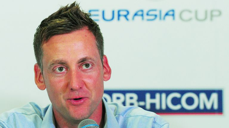 Ian Poulter Intent On Delivering For Europe At The Eurasiacup Golf News Sky Sports