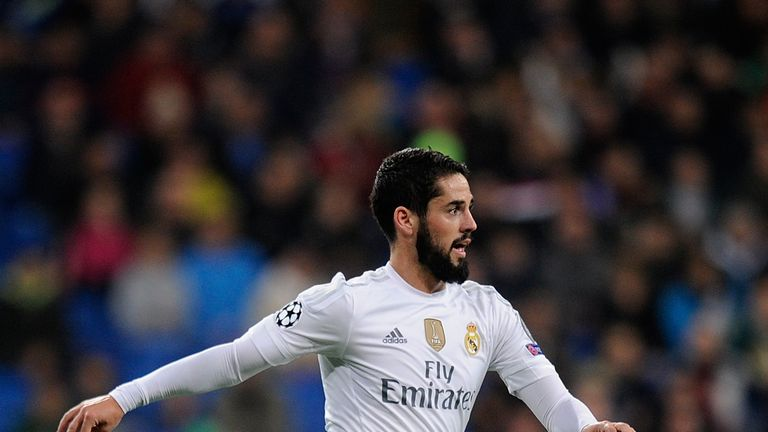 Isco of Real Madrid in action