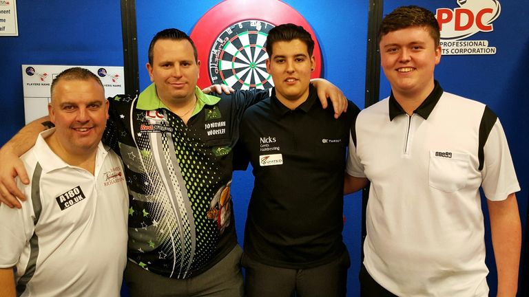 James Richardson, Jonathan Worsley, Ted Evetts and Ryan Meikle will be on the PDC Tour this year