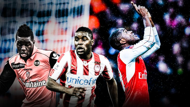 Joel Campbell had four loan spells before his breakthrough at Arsenal