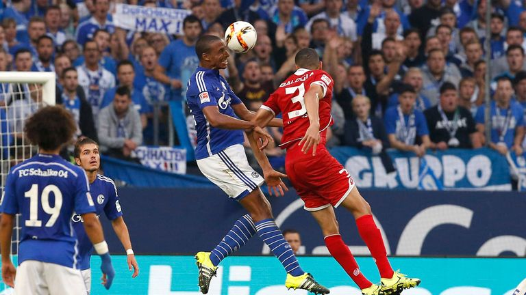 Matip leads Schalke in aerial clearances this season
