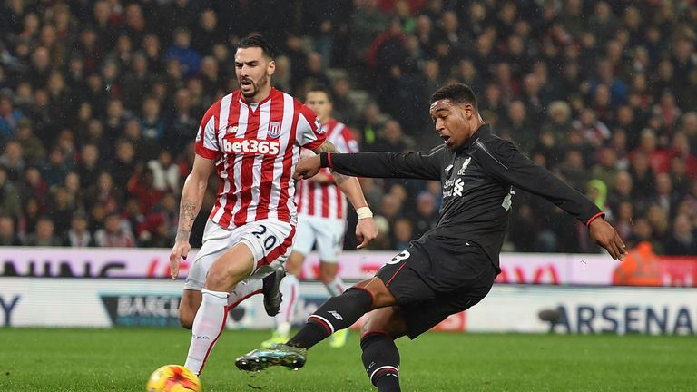 Ibe fires home to give Liverpool a first-leg lead