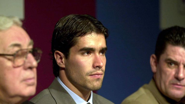 Angel arrived at Villa in January 2001 for £9.5m from Argentine side River Plate